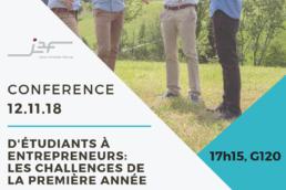 Flyer Conférence Junior Entrerprise