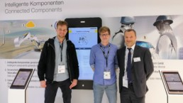 L'équipe de Swiss-SDI en visite à la Bauma 2019