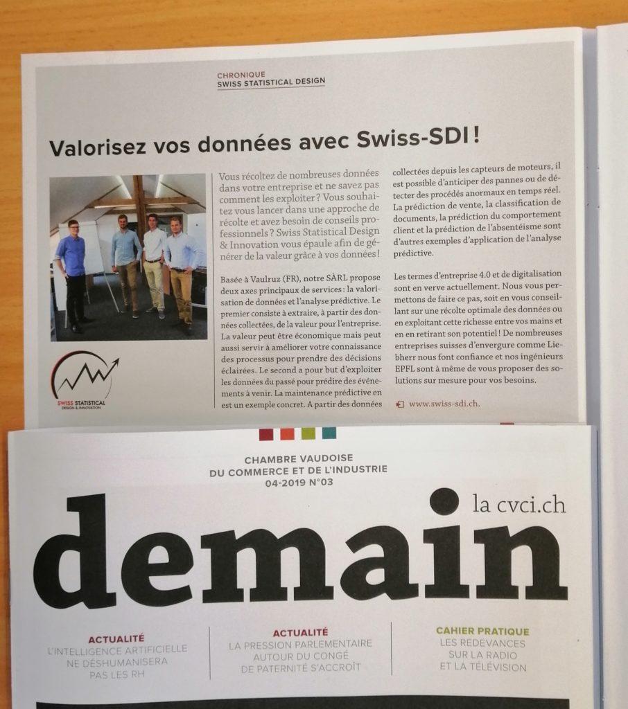 Valorisez vos données avec Swiss-SDI